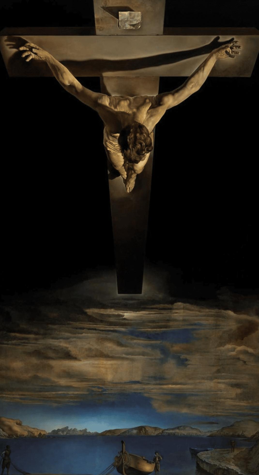 Christ of Saint John of the Cross - Salvador Dali  - Lasting Impressions